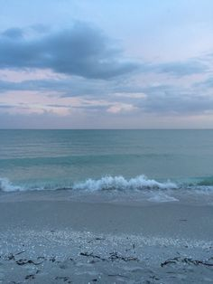 Blurred Blessings | shybabyluke:   the beach after a storm is my #1...
