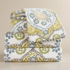One of my favorite discoveries at WorldMarket.com: Mosaic Bath Towel Collection