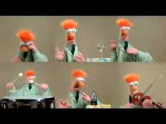 "Beaker from The Muppet Show performing Beethoven's ""Ode To Joy"""