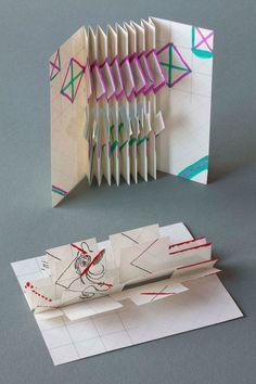 Handmade books by Hedi Kyle