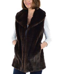 Silk and Sable – Sable Mink Faux Fur Vest Mink Vest, Vest Jacket, Mink Fur, Fur Fashion, I Love Fashion, Coats For Women, Jackets For Women, Clothes For Women, Fur Accessories