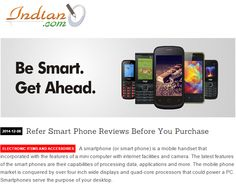 Before purchasing a smartphone always refer the reviews.  Want to know why?  Read here: http://bit.ly/1yZJmCQ