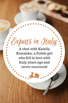It's always really nice to speak with expats living in Italy and today I have the chance of chatting with Kamila Kowalska, who moved to Rome 15 years ago and is still madly in love with the city (and with Italy as a whole). Check the interview on the blog!