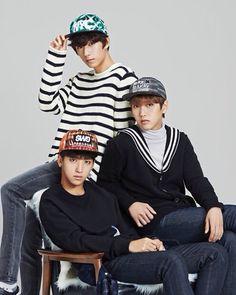 B1A4_Gongchan_Baro_Sandeul