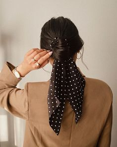Easy Work Hairstyles, Scarf Hairstyles, Pretty Hairstyles, Korean Hairstyles, Mixed Hairstyles, Beach Hairstyles, Spring Hairstyles, Unique Hairstyles, Braided Hairstyles