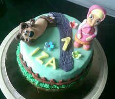 Masza i niedzwiedź #fairy #tail #fairytail #1yearold #cake