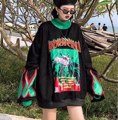 A collection of trendy women's clothing for all sizes. Show us how you style in syxx. Grunge Outfits, Punk Outfits, Retro Outfits, Girl Outfits, Fashion Outfits, Neon Outfits, Aesthetic Fashion, Aesthetic Clothes, Look Fashion