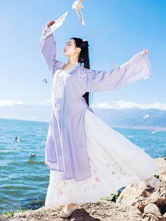 Japanese Wedding Kimono, Japanese Kimono, Kimono Japan, Chinese Clothing, Hanfu, Historical Clothing, Asian Fashion, Traditional Outfits, Cosplay