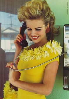 Harriet Selling 1992. Photographer: Ellen von Unwerth. Model: Eva Herzigova