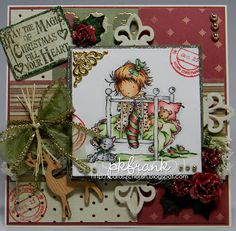 Cards 2 Cherish: Look at me! I'm one of Lili's Fairies!!