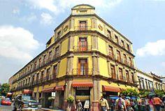 Hotel Francés, Guadalajara, Jalisco - En el Centro Histórico, a una cuadra de la Catedral, Plaza de Armas y Teatro Degollado y a 3 cuadras del Palacio de Gobierno.