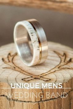 UNIQUE MENS WEDDING BANDSA CURATED LIST OF UNIQUE MEN'S WEDDING BANDS FROM AROUND THE WORLD Supernatural Style