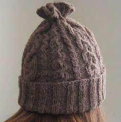 14 Cable Hat Knitting Pattern. Knitted HeadbandKnitted HatsBandanasCable ... 40e907267cc6