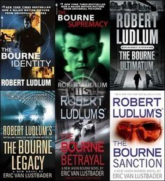 I'm currently on a Jason Bourne kick.  Robert Ludlum's Bourne is so different than the movie version.  I love the movies, but the books are incredible!
