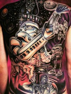 Star Wars Tattoo For The Ultimate Fan
