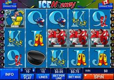 Ice Hockey is a 5 reel, 15 payline video slots game from Playtech with an Ice Hockey theme and a lot of bonus action. Bet limits will vary by casino but we found it to be a minimum of 0,05 and max of 20,00 per line at Plaza Win Casino. Die-hard Hockey fans will love this game because you get to pick your own teams to compete against each other.