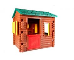 1000 id es sur le th me little tikes log cabin sur pinterest pailles en caoutchouc chaises de - Maison de jardin little tikes colombes ...