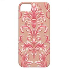 A Damask Pattern 7 iPhone 5 Cases