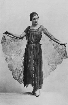 Robe de Diner 1923 by .pintuck, via Flickr