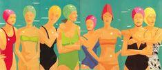 Alex Katz The Bathers Beach Themed Art, Alex Katz, Seaside Art, Consumer Culture, Alex Colville, Cindy Sherman, Architectural Photographers, Ceramic Studio, Art Programs