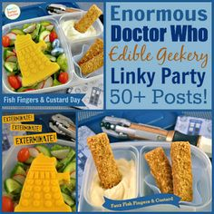 Enormous Doctor Who Edible Geekery Linky Party!