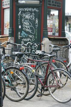 City of bicycles, Copenhagen, DK