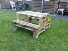Top 10 DIY Pallet tables -Refurbished Ideas