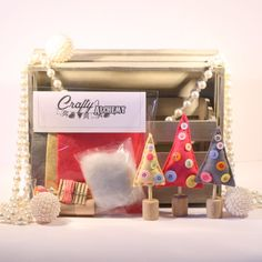 Hey, I found this really awesome Etsy listing at https://www.etsy.com/listing/202184447/sale-25-off-christmas-tree-sewing-kit
