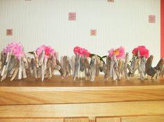 Image - guirlande de bois flotté fleurie - Art Floral - Skyrock.com