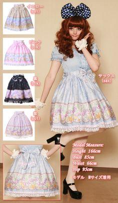 l145 - Skirt - Lolita in Pul size M