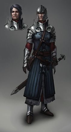 Do you have any picture of older lady paladins? It's for a campaign that I'm writing up that has a paladin order comprised of mainly older ladies due to the fact that they worship a crone-goddess.