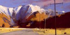 Tony Allain     Southern Alps New Zealand detail