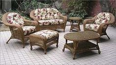 9b2a99b6a2f9 77 Best outdoor wicker furniture cushions images | Wicker furniture ...
