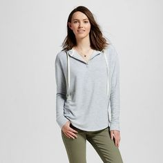 Women's Side Slite Hoodie - Mossimo Supply Co.™ (Juniors')
