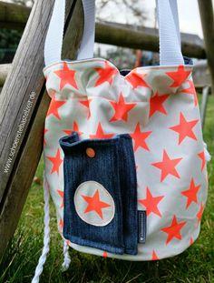 Die neue Gartentasche von keko-kreativ - genäht von (c) www.schoenstebastelzeit.de