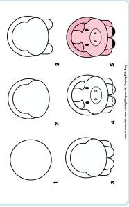 learn to draw a pig Plus