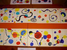 - Découverte de l'artiste CALDER à l'Ecole Maternelle et Primaire de Semblançay