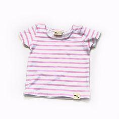 Basic Pink Stripe - tank/tee