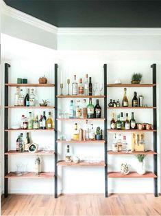 Houten decoratieve design muur gemonteerd 3 compartiment | Etsy Dining Room Shelves, Bar Shelves, Wall Bookshelves, Wooden Shelves, Display Shelves, Wall Shelving, Liquor Shelves, Shelving Ideas, Ikea Wall Shelves