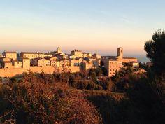 Paradiso .... Torre di Palme, Italia.  December morning sunrise. Buona giornata!