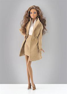 Esta belleza es la Barbie Red Carpet Gold Gown (BCP87)  y se ha convertido en una de mis preferidas. Es espectacular. La venden en Amazon ...