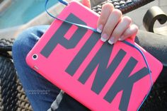 pink ipad mini case.♡