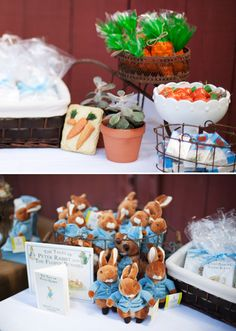 Gorgeous Peter Rabbit First Birthday {Garden Party} // Hostess with the Mostess® First Birthday Themes, Birthday Favors, Baby Birthday, First Birthday Parties, First Birthdays, Birthday Ideas, Party Favors, Peter Rabbit Birthday, Peter Rabbit Party