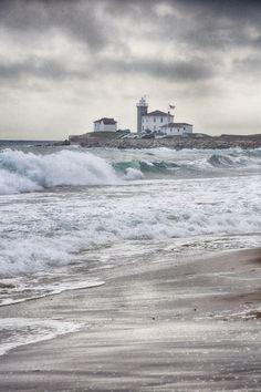 What a wonderful setting ~ Watch Hill Lighthouse, Rhode Island