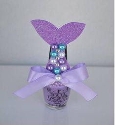 Mermaid Tail Nail Polish Cover Mermaid Tail Favor Little