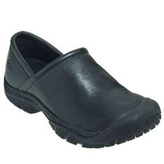 Keen Footwear: Menu0027s 1006983 Black PTC Slip On II Work Shoes