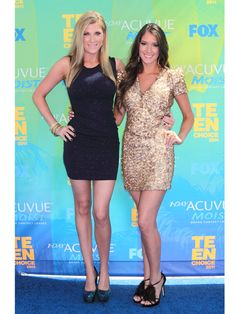 Elle Fowler's Midnight Blue Dress @ Teens Choice Award