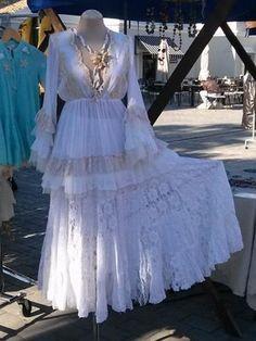 Falda Shabby Chic 94, Faldas - Ropa de viaje, ropa de crucero, ropa de vacaciones - Travel Wear Miro - www.travelwearmiro.com