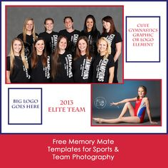 Clean, simple & customizable memory mate templates for team and sports photography.  (And they're free!)  Print at @Mpix!