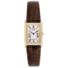 Seiko Women s SUJ504 Brown Strap Watch  59.99 fcae269ecd